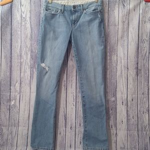 Joe's Jeans Distressed Provocateur Straightleg, 27